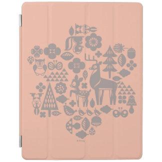 Protection iPad Bambi et créatures de région boisée