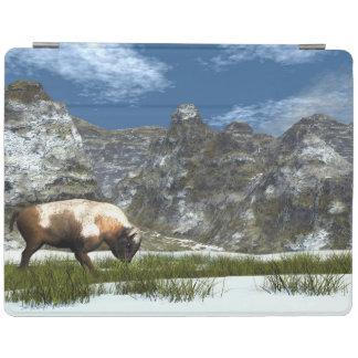 Protection iPad Bison dans la montagne