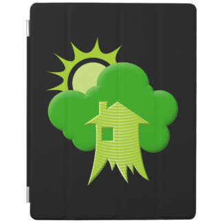Protection iPad Chambre verte