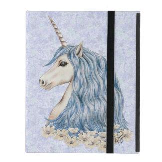 Protection iPad Cheveux de bleu de licorne