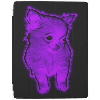 Protection iPad Chiwawa pourpre