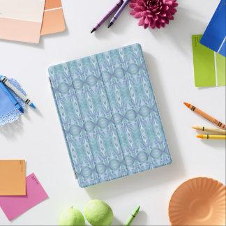 Protection iPad Couverture BLEUE d'iPad de MOTIF ABSTRAIT