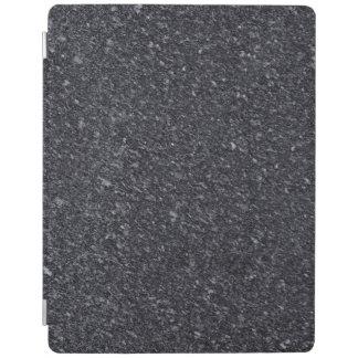 Protection iPad Couverture d'iPad de motif de pierre de granit