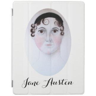 Protection iPad Couverture d'ipad de portrait d'aquarelle de Jane