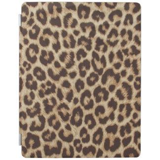 Protection iPad Couverture d'iPad d'empreinte de léopard