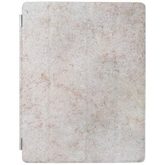 Protection iPad Couverture en pierre de marbre d'iPad de motif