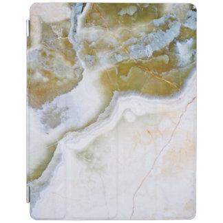 Protection iPad Couverture en pierre naturelle d'iPad de motif