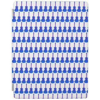 Protection iPad couverture intelligente de comprimé bleu de