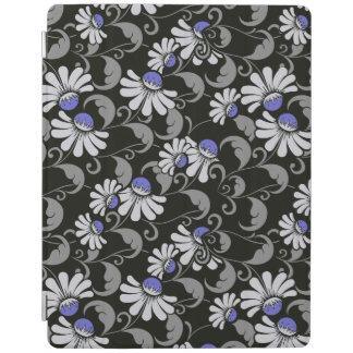 Protection iPad couverture intelligente de l'iPad 2/3/4 de fleurs