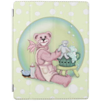 Protection iPad Couverture intelligente d'iPad de BAIN d'OURS