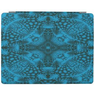 Protection iPad Couvertures noires et bleues   de Smart d'iPad de