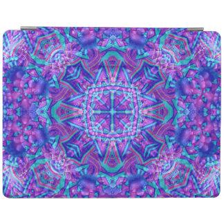 Protection iPad Couvertures pourpres et bleues de Smart d'iPad de