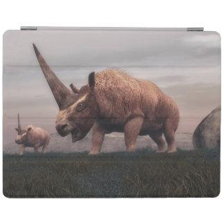 Protection iPad Dinosaures mammifères d'Elasmotherium - 3D rendent