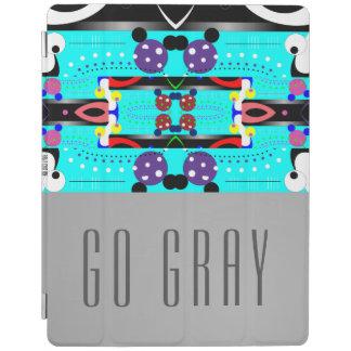 Protection iPad Disparaissent le gris