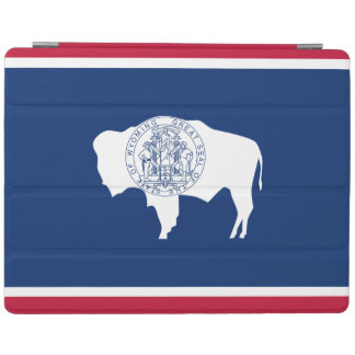 Protection iPad Drapeau d'état du Wyoming