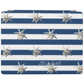 Protection iPad Étoiles de mer adorables, bleu marine