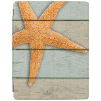 Protection iPad Étoiles de mer oranges
