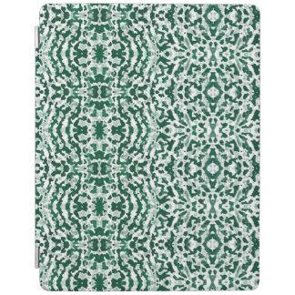 Protection iPad fabu - blanc et vert