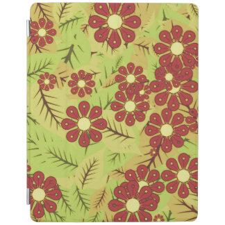 Protection iPad Feuillage et fleurs