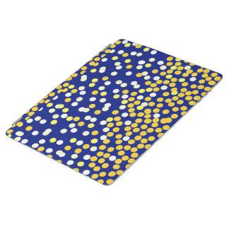 Protection iPad Jaune blanc bleu de nuit étoilée