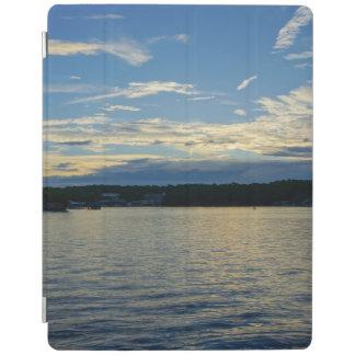 Protection iPad Lac bleu sunset d'Ozarks