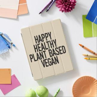 Protection iPad Le plante sain heureux a basé le végétalien (le