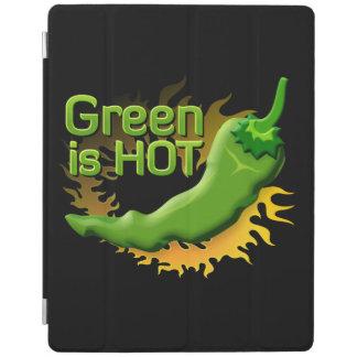 Protection iPad Le vert est CHAUD