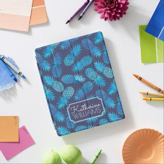 Protection iPad Les ananas bleus de colorant de cravate | ajoutent