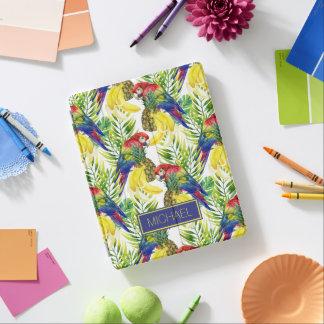 Protection iPad Les perroquets et le fruit tropical | ajoutent
