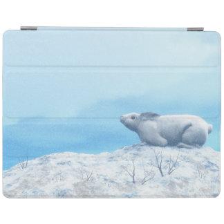 Protection iPad Lièvres arctiques, lepus artique, ou lapin polaire