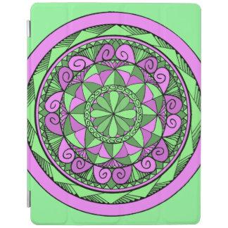 Protection iPad Mandala d'indigo