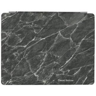 Protection iPad Marbre noir personnalisé