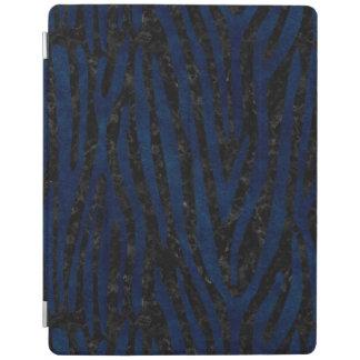PROTECTION iPad MARBRE SKIN4 NOIR ET GRUNGE BLEUE (R)