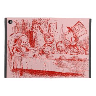 Protection iPad Mini 4 Alice vintage au thé du pays des merveilles