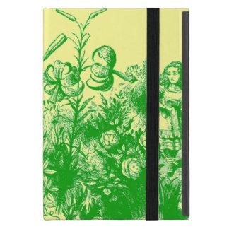 Protection iPad Mini Alice vintage au pays des merveilles