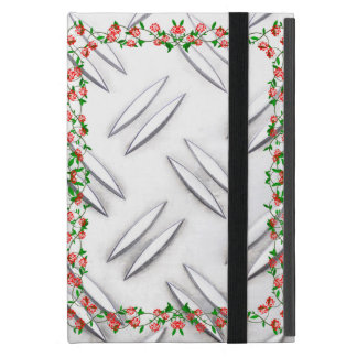 Protection iPad Mini Cadre de rose