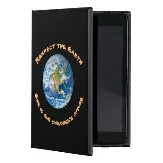 Protection iPad Mini Cas de futur iPad de la terre de planète de