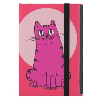 Protection iPad Mini chat doux reposant la bande dessinée drôle