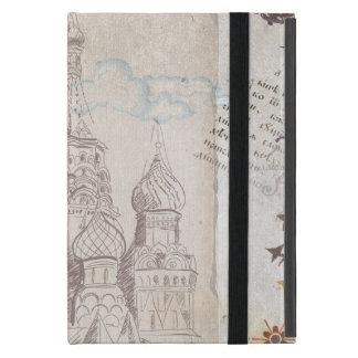Protection iPad Mini Conception vintage d'affranchissement de Moscou