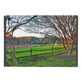Protection iPad Mini Coucher du soleil d'automne par Shirley Taylor