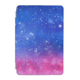 Protection iPad Mini Couleur pour aquarelle de galaxie