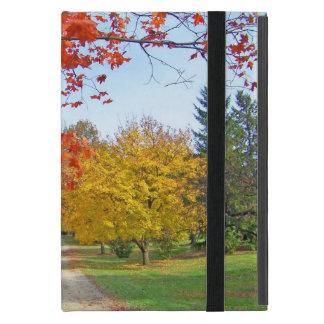 Protection iPad Mini Feuille d'automne de chute