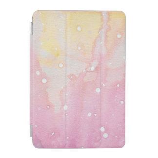 Protection iPad Mini Floc pour aquarelle de marbre rose
