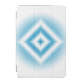 Protection iPad Mini gradient bleu de diamant de Personnaliser-ciel