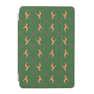 Protection iPad Mini Grands Danois sur le vert
