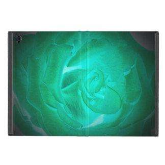 Protection iPad Mini images des roses de turquoise, lueur d'imitation
