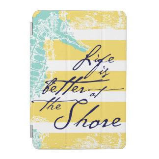 Protection iPad Mini La vie est meilleure au rivage