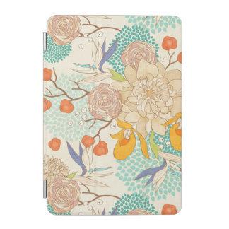Protection iPad Mini Mini couverture de pivoine de fleur d'iPad rose