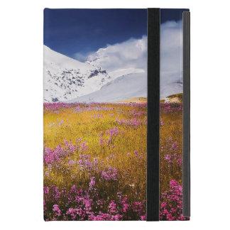 Protection iPad Mini mini paysage d'Alpes de cas d'iPad sans Kickstand