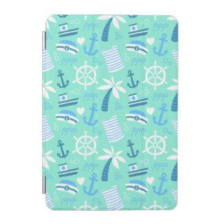 Protection iPad Mini Motif nautique de marin de menthe fraîche